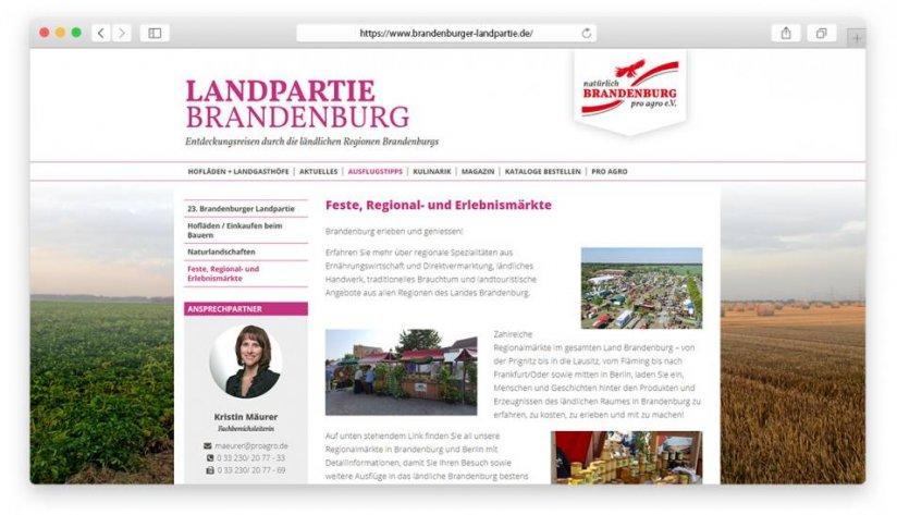 Feste, Regional- und Erlebnismärkte