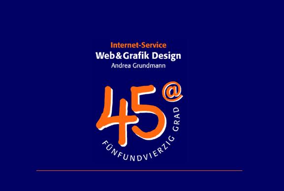 45 Grad erstes Logo (alt)