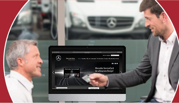 Referenzbild: Mercedes ServiceCard