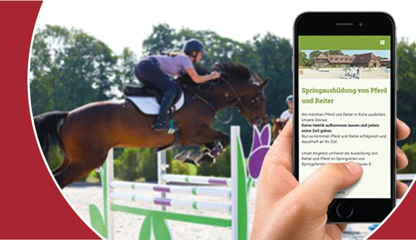 Referenzen: Pferdesport Werbung
